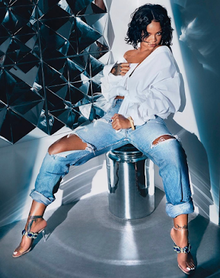 Rihanna like never before for Manolo Blahnik photoshoot