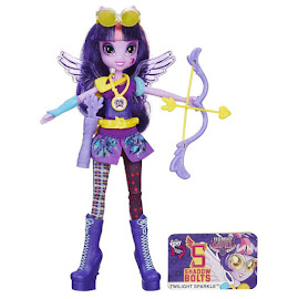 MLP Equestria Girls Friendship Games Sporty Style Deluxe Twilight Sparkle Doll