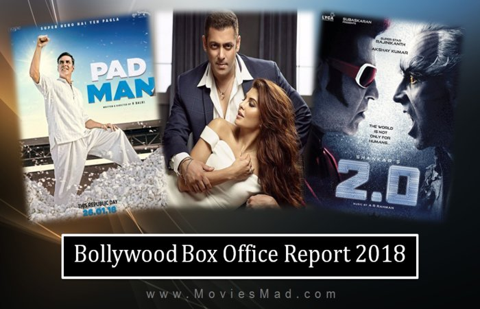 Bollywood Box Office Collection Report 2018 & Hit or Flop Status