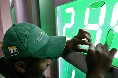 ANP passa a divulgar preço de referência para gasolina e diesel