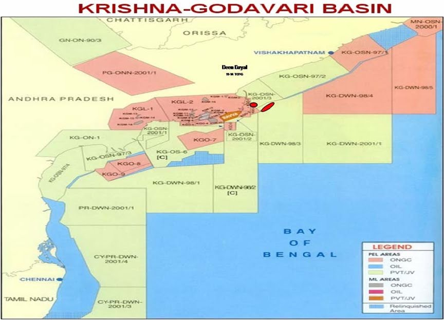 krishna godavari basin - india news collections