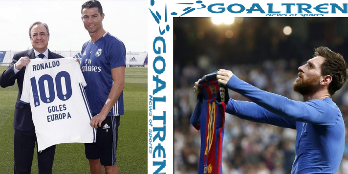 Ronaldo and Messi pursue 100 Goals in the Champions League, Who Will Win?