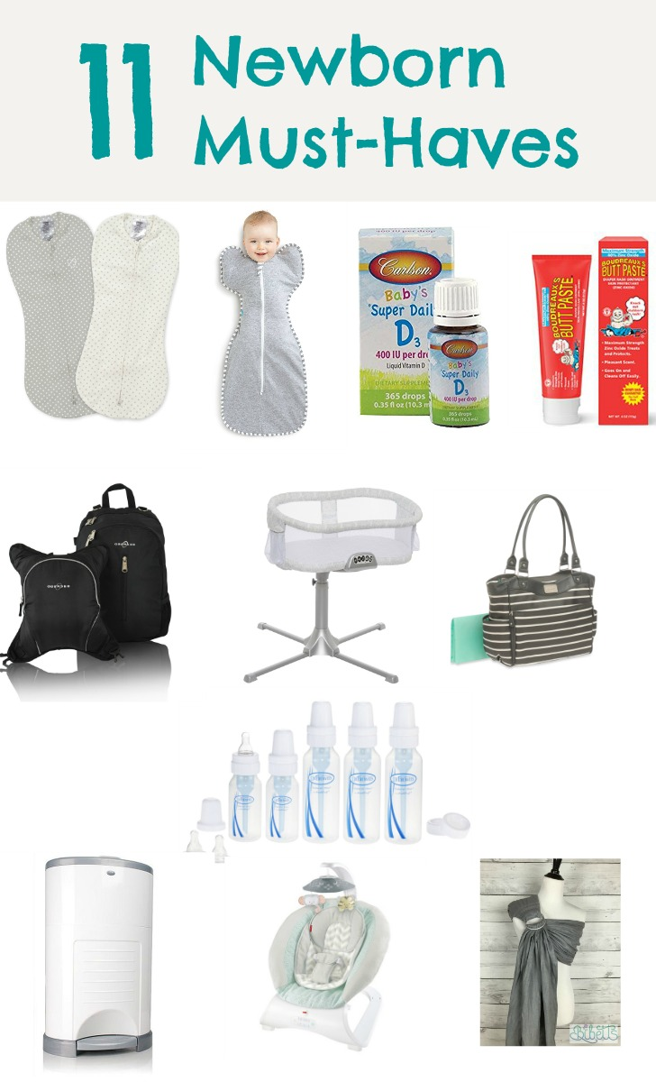 Essentials for new baby