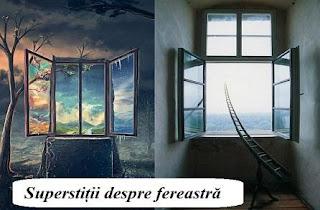 Superstiții despre fereastră