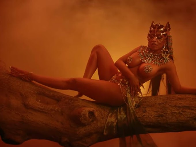 Watch Hot Nicki Minaj - Ganja Burn - Video  #NickiMinaj