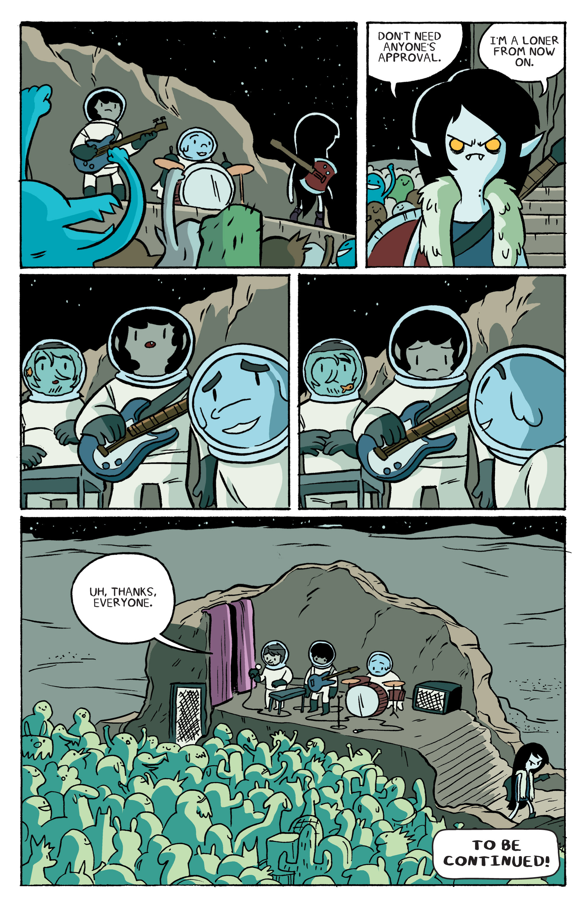 Read online Adventure Time: Marceline and the Scream Queens comic -  Issue #3 - 20