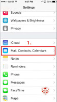 how to delete blocks of email on iphone