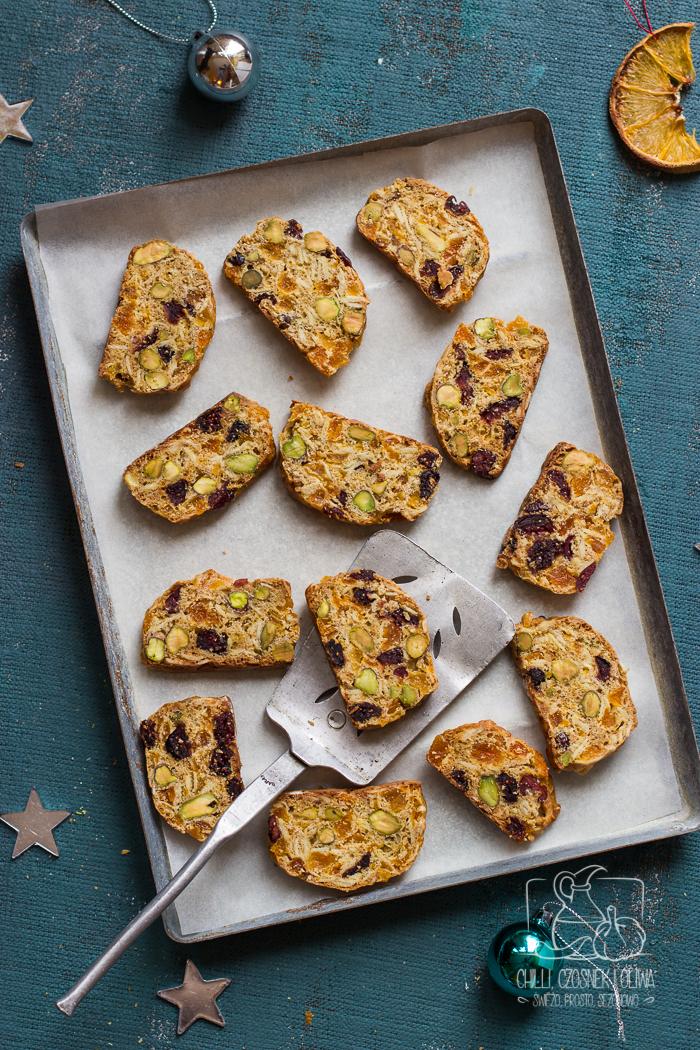 Jadalne prezenty: Biscotti bez cukru / Chilli, Czosnek i Oliwa