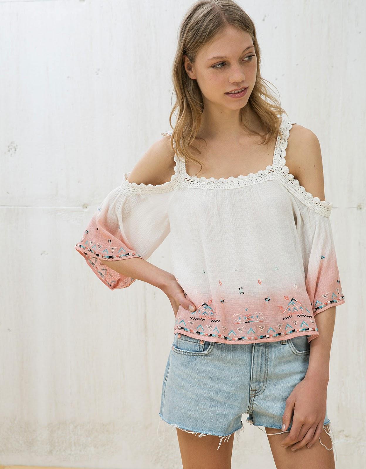 la moda me enamora 10 blusas de crochet para lucir rom ntica