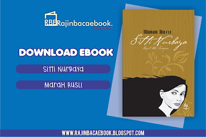 Download Ebook Marah Rusli - Sitti Nurbaya: Kasih Tak Sampai Pdf