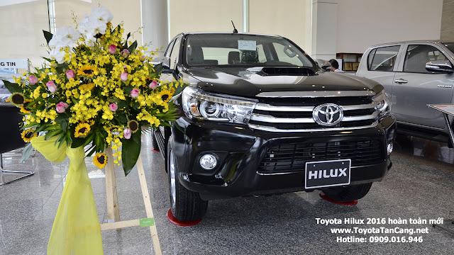 Xe bán tải Hilux 2016 hoàn toàn mới thể thao và mạnh mẽ