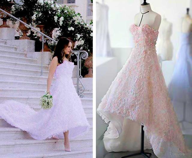 Vestido de noiva da Miss Dior