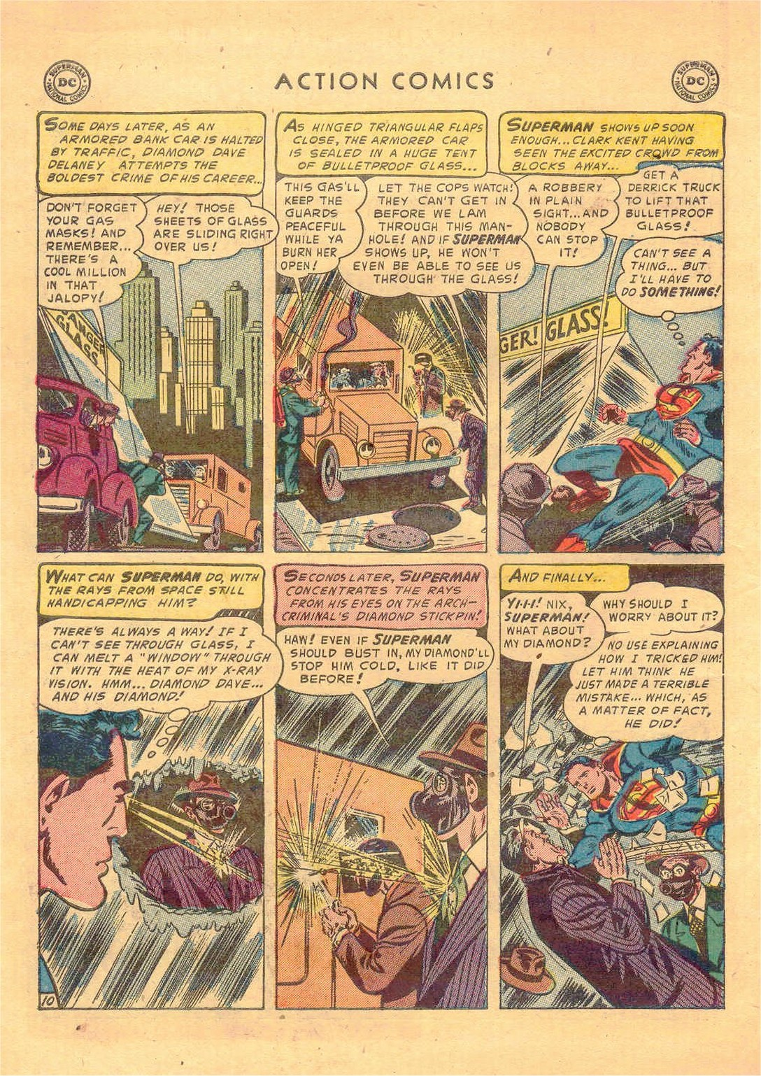 Read online Action Comics (1938) comic -  Issue #181 - 11