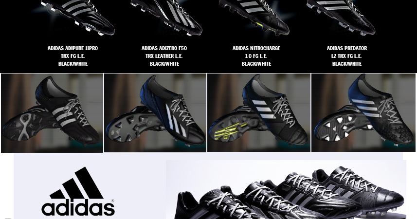cheap for discount 936b6 8f765 ... coupon code for pes modif pes 2013 adidas boots pack by sgangster b29b2  ffe2f