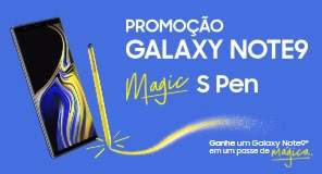 Cadastrar Promoção Samsung Galaxy Note 9 Magic S Pen