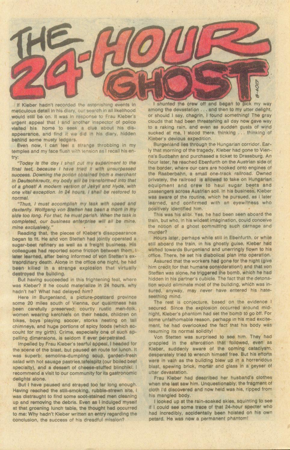 Read online Ghosts comic -  Issue #71 - 32