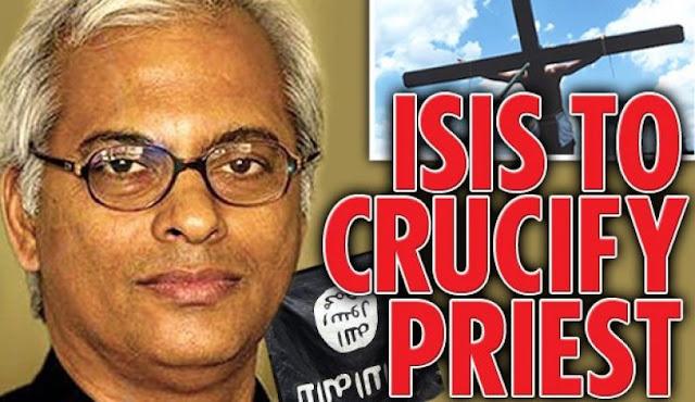 Menolak Meninggalkan Yesus, ISIS Salibkan Pastor Katolik Saat Jumat Agung