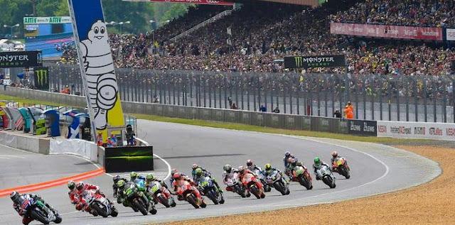 Jadwal MotoGP Prancis 2018 - Sirkuit Le Mans. Jumat 18-20 Mei 2018