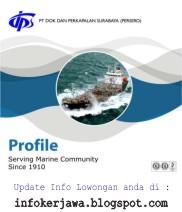 Lowongan Kerja PT Dok dan Perkapalan Surabaya (DPS)