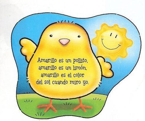 Resultado de imagen de poesía del color amarillo infantil