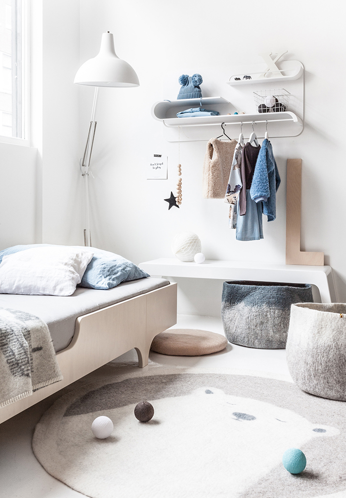 Cosy winter with Rafa-kids - A teen bed +  L shelf and B bench