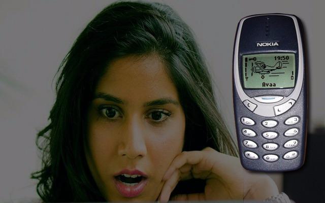 نمو شراء هاتف نوكيا القديم من نساء الهند للإشباع الجنسي بفضل الإهتزاز القوي في الهاتف