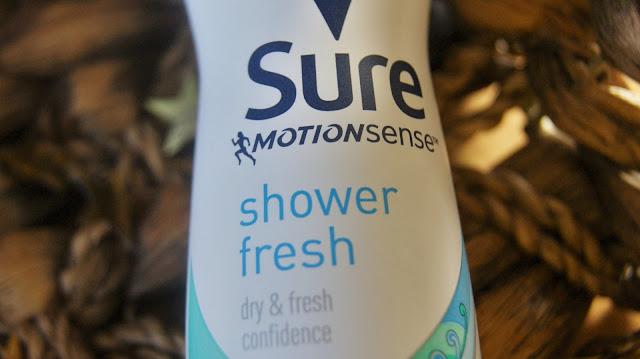 Sure Compressed Shower Fresh Anti-Perspirant Deodorant