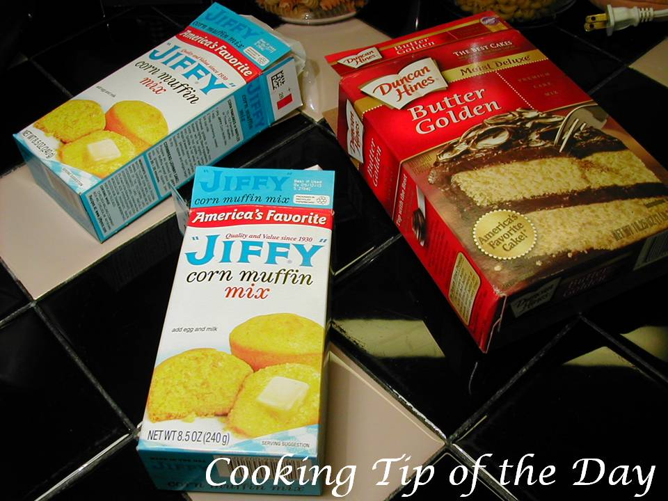 Corn Muffins Mix Add Golden Yellow Cake Mix Recipes