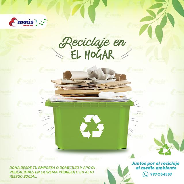 Reciclaje en el Hogar - Emaus Reciclaje Perú