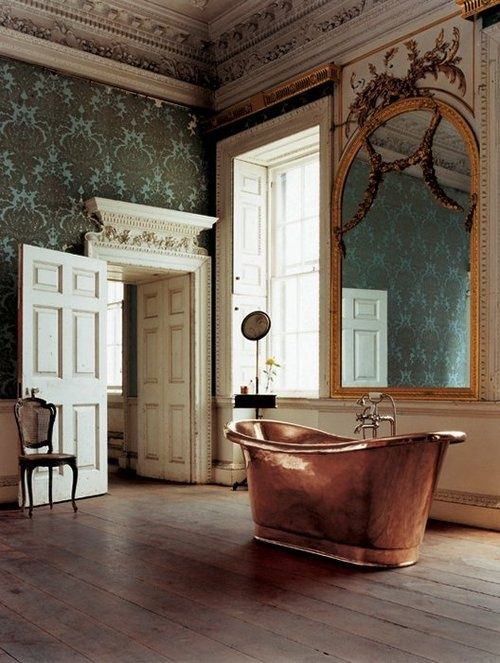 For Hundreds Of Years Beautiful Copper Bathtubs Have Provided Character And  An Elegant, Luxurious Aesthetic To Bathrooms.