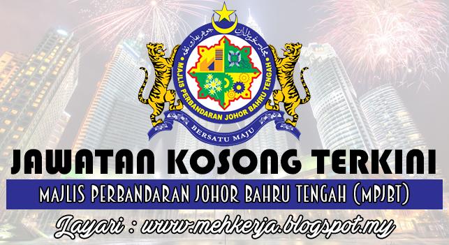 Jawatan Kosong Terkini 2016 di Majlis Perbandaran Johor Bahru Tengah (MPJBT)
