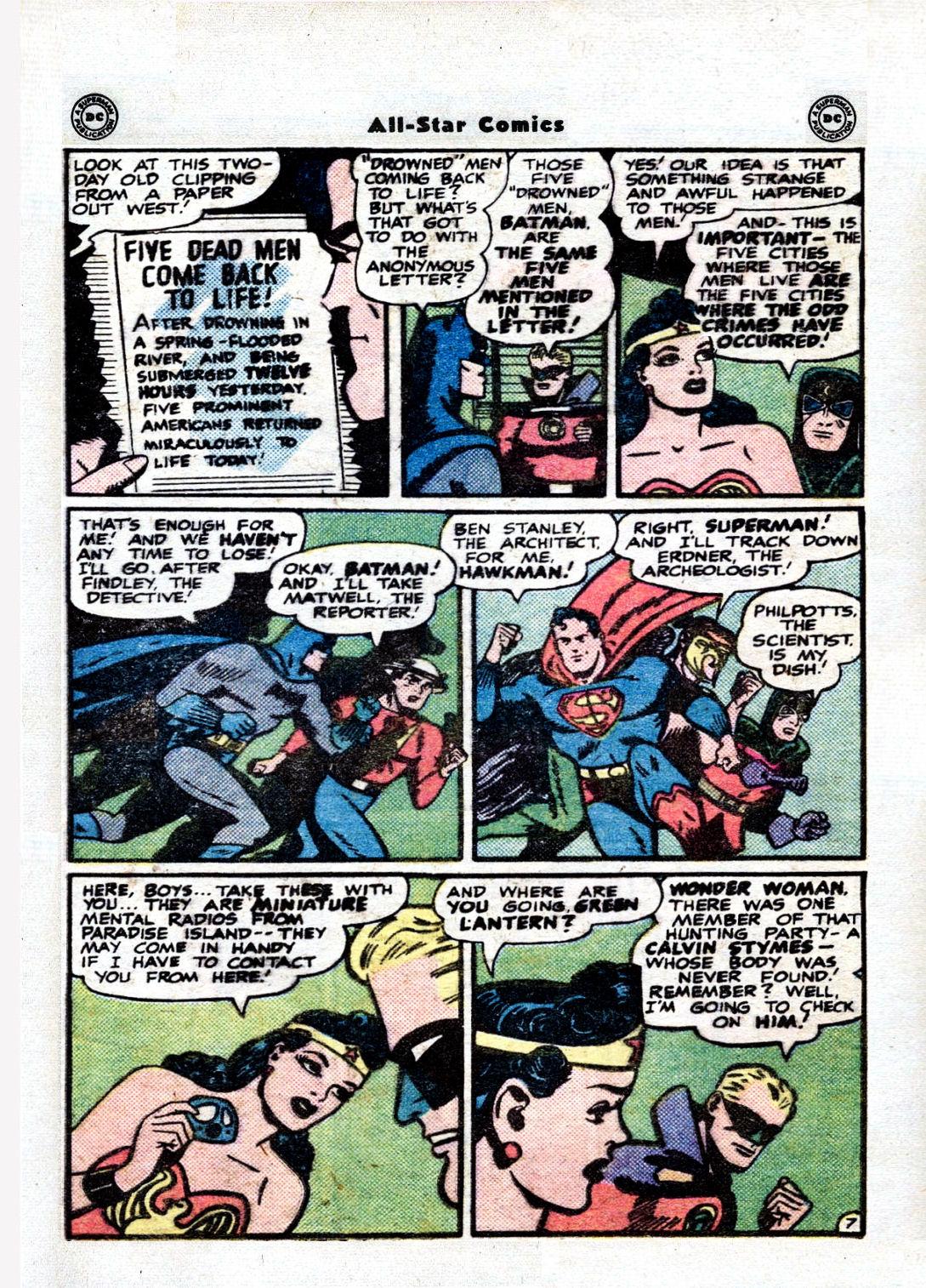 Read online All-Star Comics comic -  Issue #36 - 9