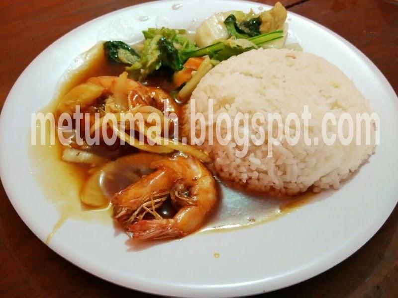 Nasi Udang Goreng Mentega