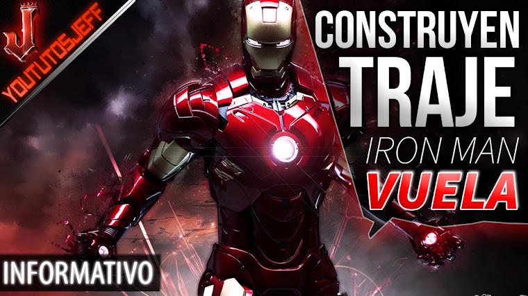 Construyen un traje de Iron Man que vuela de verdad