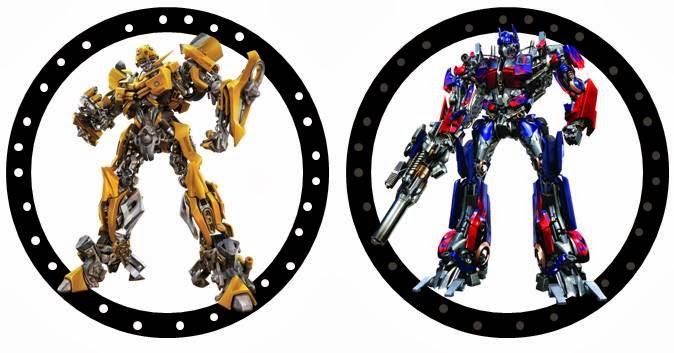 transformers party free printable kit