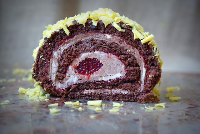 cukieteria,rolada czekoladowa,ciasta,desery