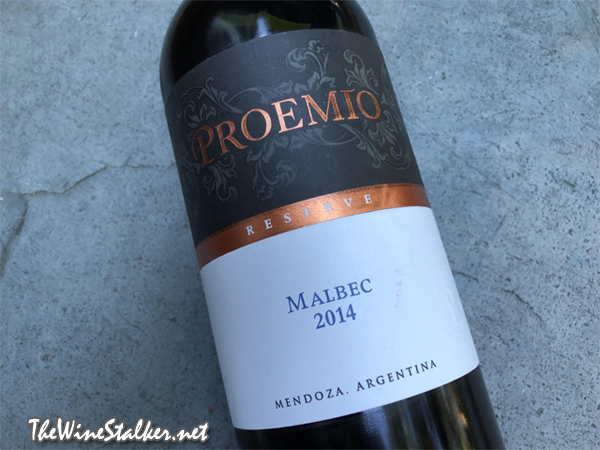 Proemio Reserve Malbec 2014