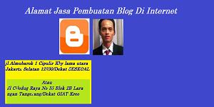 Alamat Jasa Pembuatan Blog Di Internet