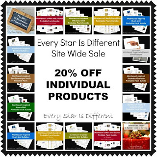 Every Star Is Different Site Wide Sale