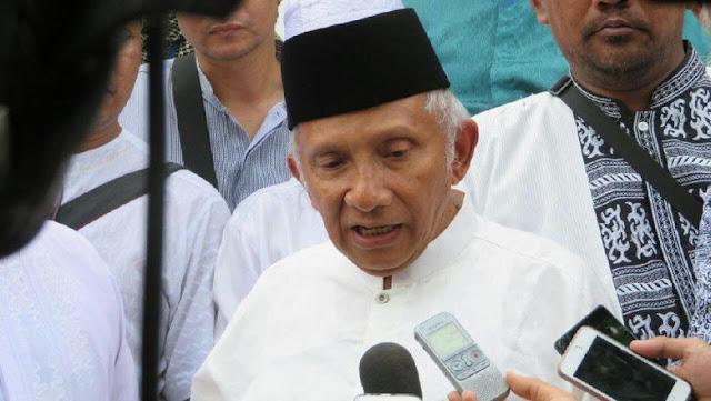 Amien Rais: Poros ketiga mustahil, biarkan Jokowi dan Prabowo bertarung