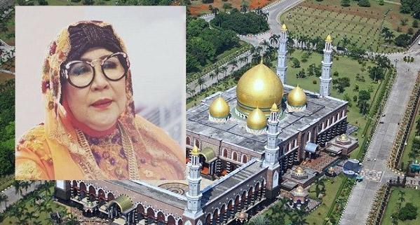 Hj Dian Al Mahri Pendiri Masjid Kubah Emas Tutup Usia