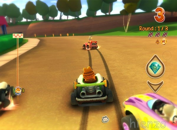 Garfield Kart PC Gameplay