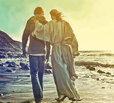 Image result for walking with Jesus