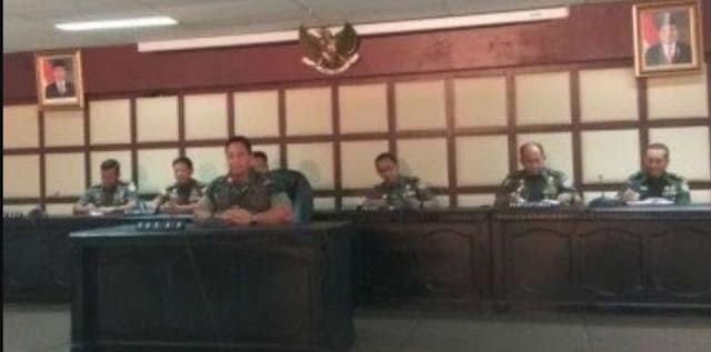 TNI AD Bakal Tindak Letkol AD Pemberi Informasi Hoax Prabowo Menang