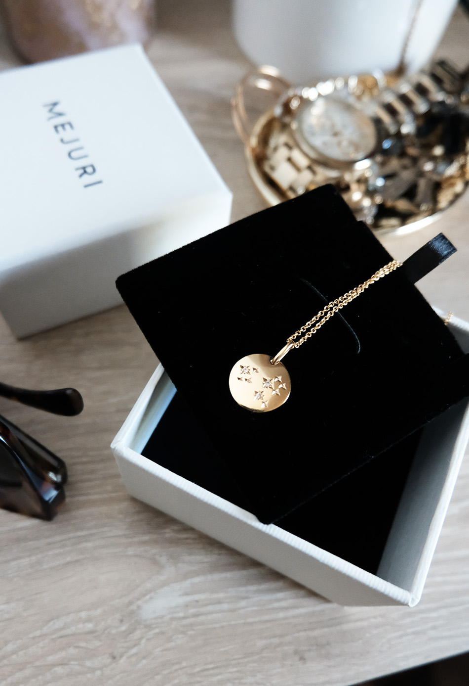 mejuri jewelry review | zodiac leo necklace