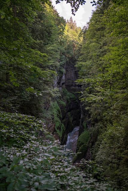 Wamberg, Eckbauer und Graseck  Wandern in Garmisch-Partenkirchen  Eiserne Brücke über der Partnachklamm  Start am Olympia Skistadion 13