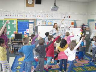Class dancing