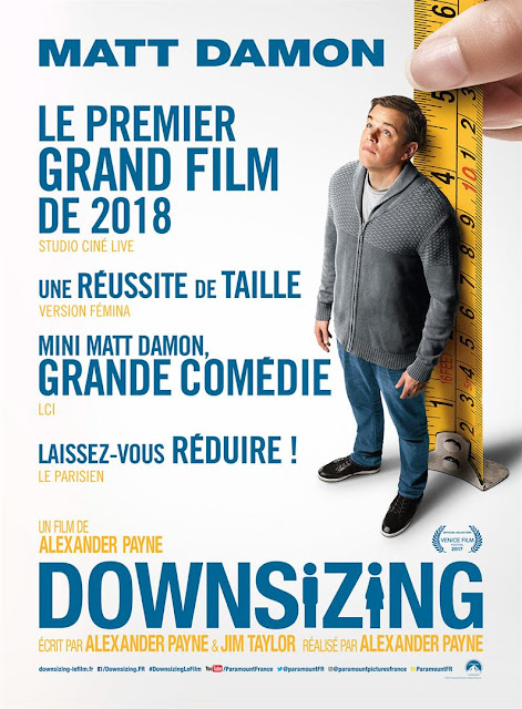 L'Agenda Mensuel - Janvier 2018 Film Downsizing