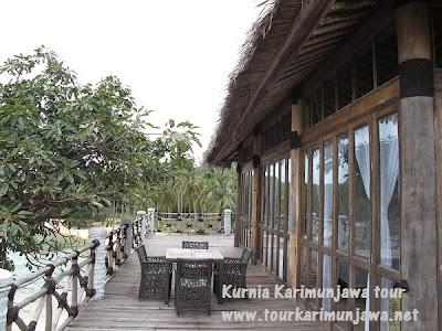 teras kamar master suite nirwana resort