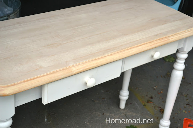 DIY Sewing Table Makeover